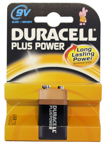 Duracell 9v Batteries (6)