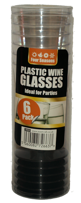 6pk Wine Glasses