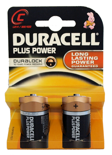Duracell C Batteries (6)