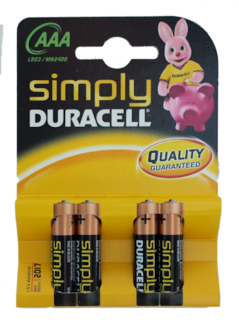 Duracell AAA Batteries (6)