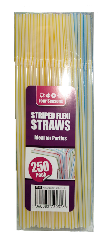 250 Flexi Drinking Straws