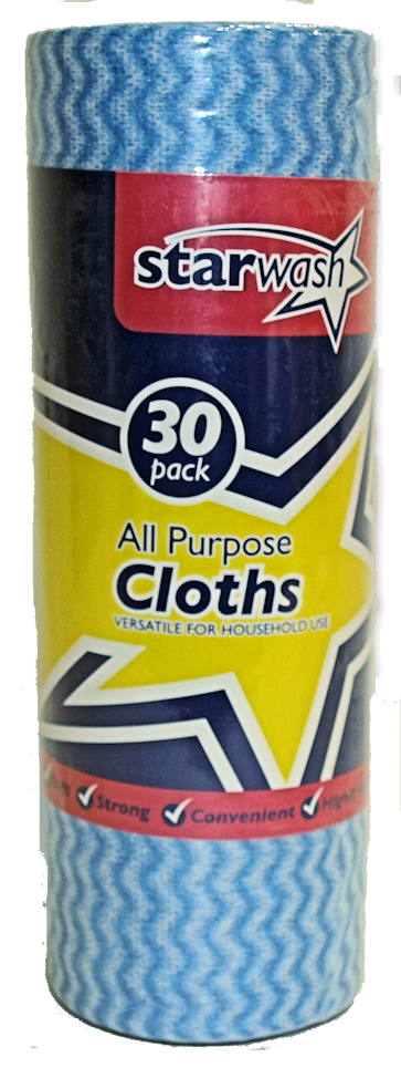 30 x All Purpose Cloths (10)