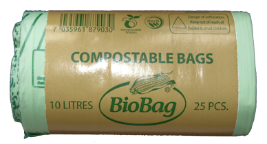 25 x Bio Resin Food Waste Bags 10ltr (6)