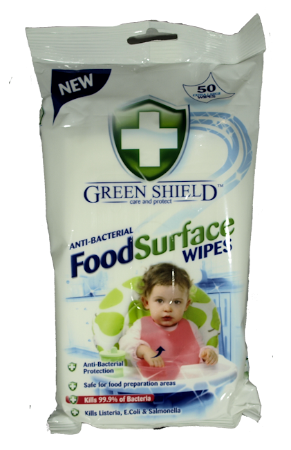 Greenshield Food Surface Wipes x 50