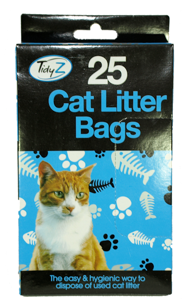 25 x Cat Litter Tray Liners (6)