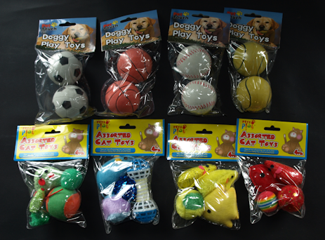 Assorted Pet Toys (8)